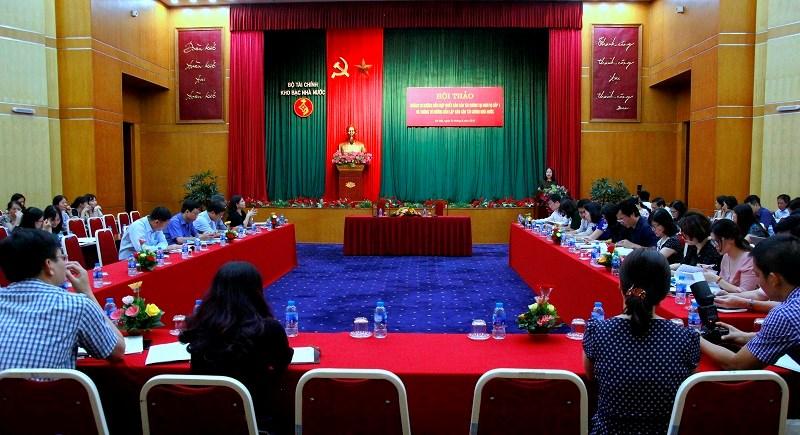 Kho bạc Nhà nước tổ chức Hội thảo lấy ý kiến góp ý vào 2 dự thảo thông tư