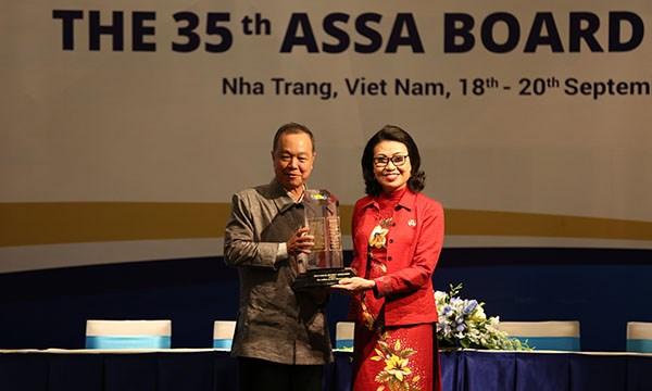 BHXH Việt Nam tiếp nhận chức Chủ tịch ASSA nhiệm kỳ 2018 - 2019