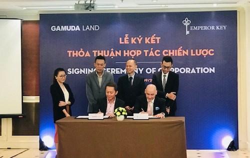 Gamuda Land hợp tác với Emperor Key phát triển dự án Gamuda City