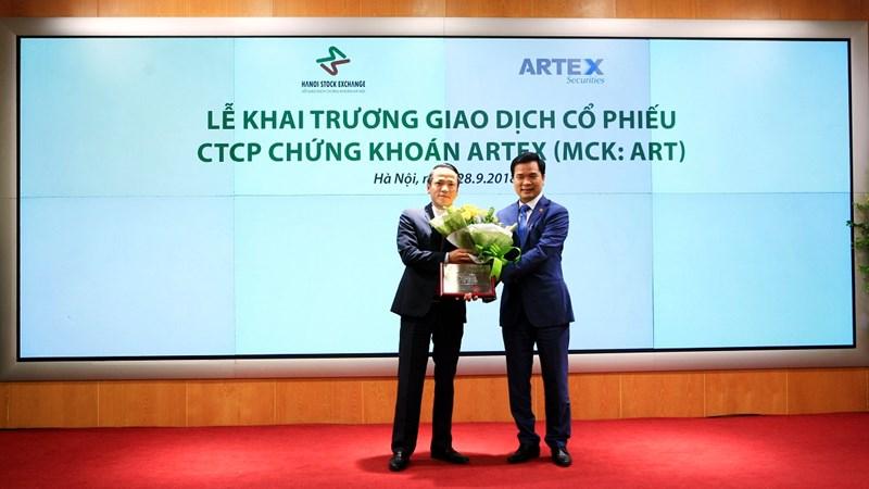 Chứng khoán Artex chính thức niêm yết 37,26 triệu cổ phiếu trên HNX