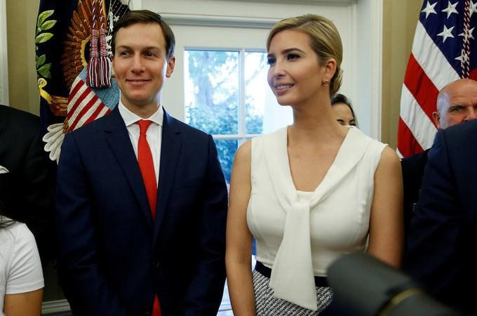 Khối tài sản 1,1 tỷ USD của vợ chồng con gái Donald Trump