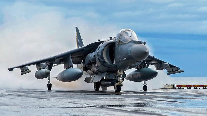 Chưa cần tới F-35B, AV-8B Harrier II vẫn đủ khiến Nga phải giật mình
