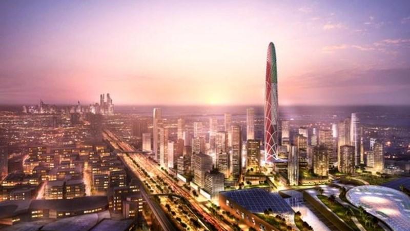 [Video] Dubai sắp xây tòa nhà chọc trời mới cao 550 mét