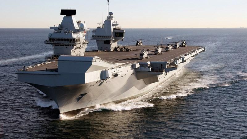 [Video] Kế hoạch điều tàu sân bay thách thức Trung Quốc của Anh