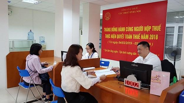 Từ 4/3 đến 5/4 tháng đồng hành cùng người nộp thuế tại Hà Nội
