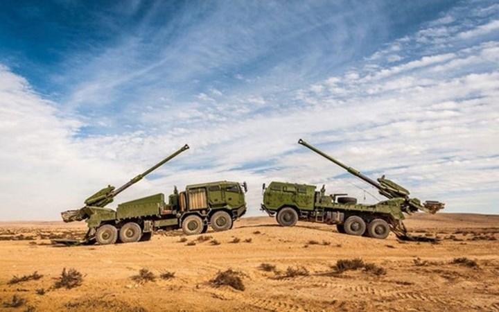 Tính năng pháo tự hành hiện đại bậc nhất của Israel ATMOS 2000