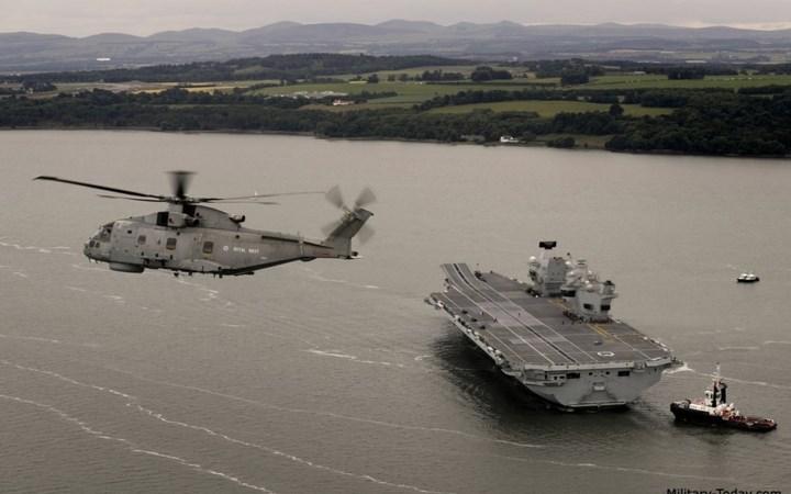 HMS Queen Elizabeth: Hàng không mẫu hạm hiện đại nhất của Anh