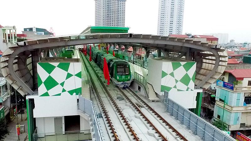 [Video] Đường sắt 36.000 tỷ đồng ở Hà Nội sắp hoàn thành đoạn trên cao