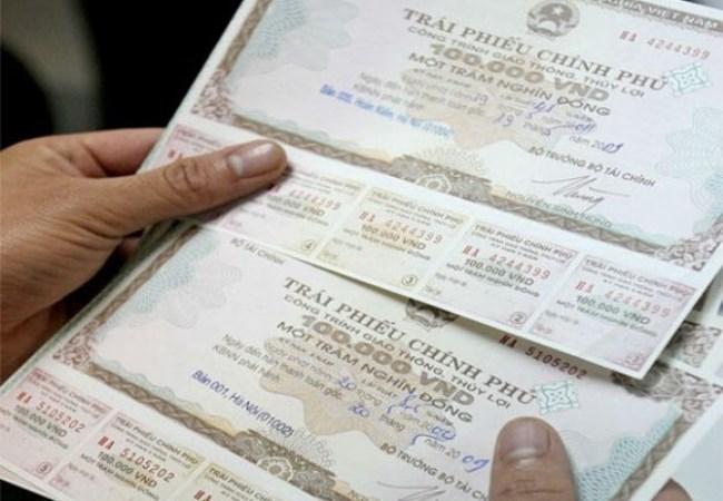Huy động 4.070 tỷ đồng trái phiếu Chính phủ
