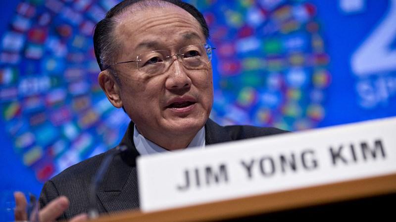 Ông Jim Yong Kim sẽ tiếp tục nắm giữ cương vị lãnh đạo WB