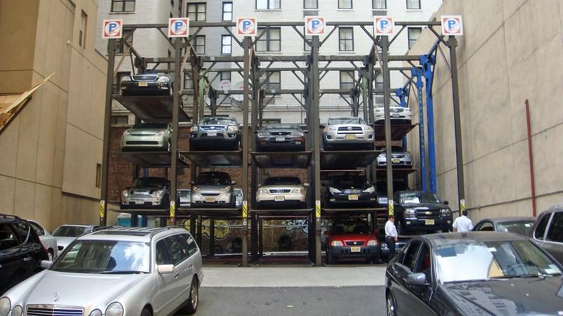 Quy hoạch khu dừng, đỗ xe ở nước ngoài: Khắc phục không gian thiếu