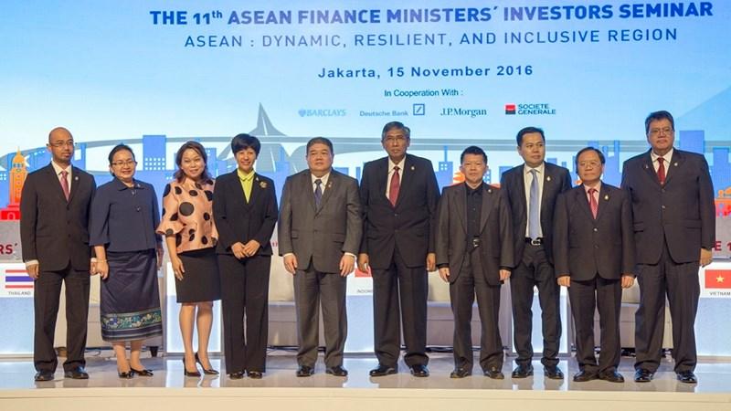 Hội nghị xúc tiến đầu tư của các Bộ trưởng Tài chính ASEAN lần thứ 11