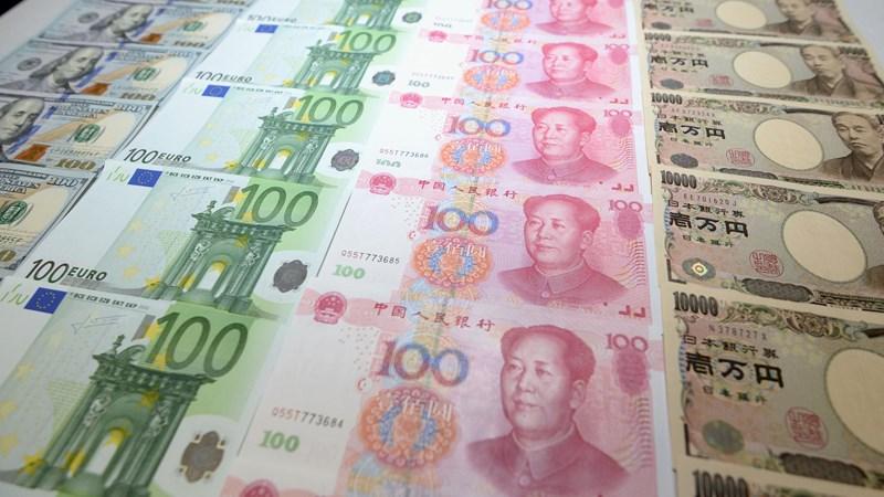 Nhân dân tệ tụt xuống vị trí thứ 3 về tài trợ thương mại toàn cầu
