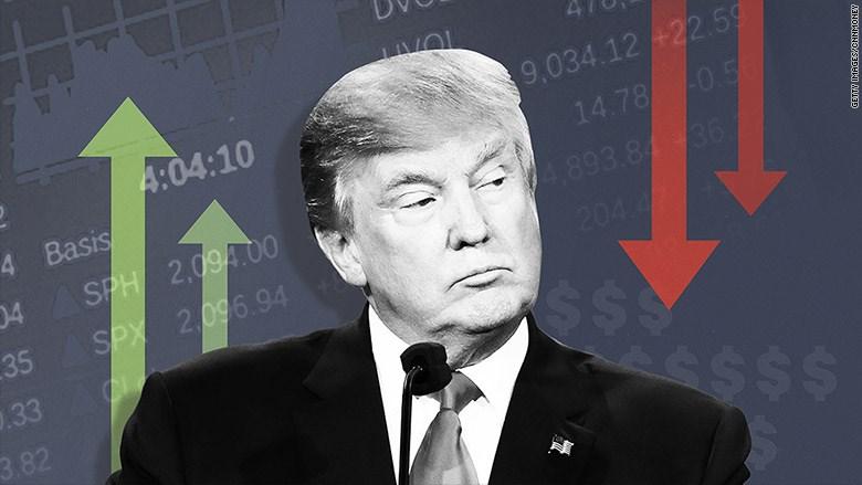 Thất vọng với ông Trump, chứng khoán đồng loạt giảm