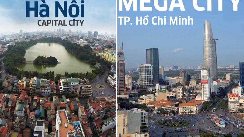Hà Nội và TP. Hồ Chí Minh trong TOP 10 thành phố năng động nhất thế giới