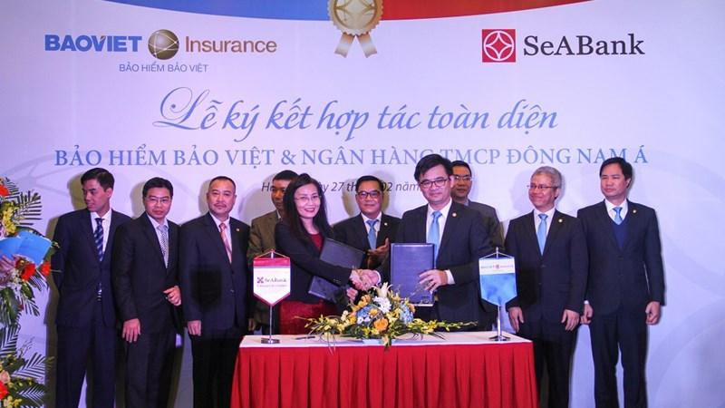 Bảo hiểm Bảo Việt và Ngân hàng TMCP Đông Nam Á ký thỏa thuận hợp tác toàn diện