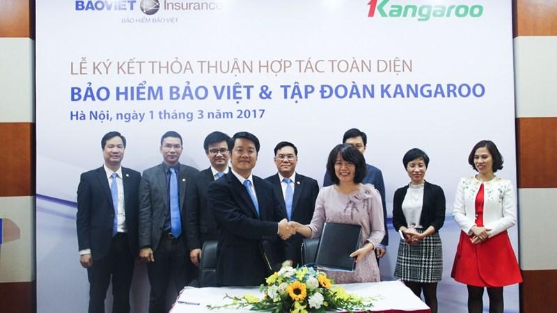 Bảo hiểm Bảo Việt và Tập đoàn Kangaroo ký hợp tác toàn diện