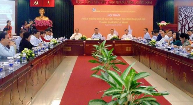 TP. Hồ Chí Minh sẽ tạo cơ chế cho người mua nhà ở xã hội