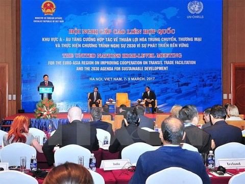 Thúc đẩy thương mại quốc tế và thuận lợi hóa thương mại