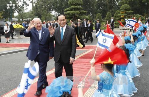 Củng cố, thắt chặt hơn nữa quan hệ Việt Nam - Israel