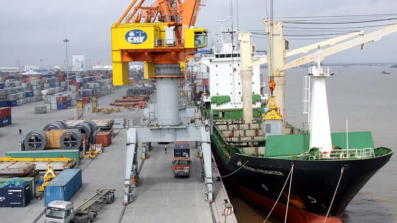 Thông tuyến tàu biển chở hoa quả từ Việt Nam xuất sang Trung Quốc