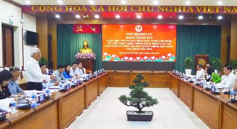Cải cách bộ máy hành chính tại TP. Hồ Chí Minh: Cần cơ chế đặc thù