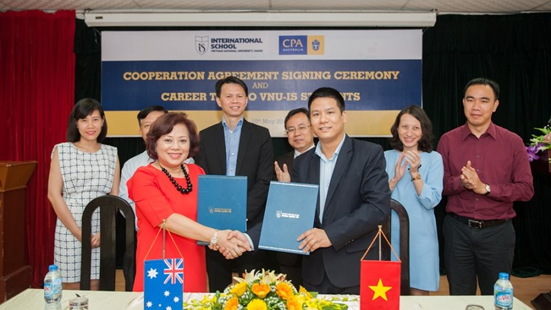 Thỏa thuận hợp tác giữa CPA Australia và Đại học Quốc gia Hà Nội
