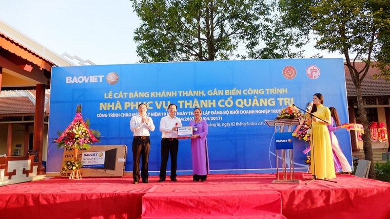 Bảo Việt tri ân các anh hùng liệt sỹ tại Quảng Trị