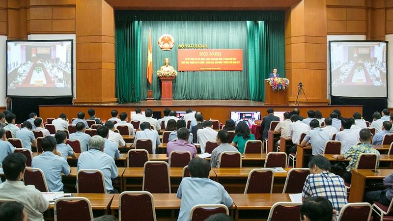 Hội nghị sơ kết công tác tài chính - ngân sách nhà nước 6 tháng đầu năm và triển khai nhiệm vụ 6 tháng cuối năm 2017