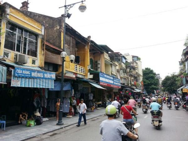 Hơn một tỷ đồng mỗi m2 đất phố đi bộ Hà Nội