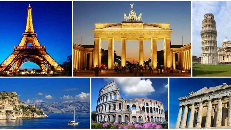 [Infographic] Ngành du lịch châu Âu khởi sắc