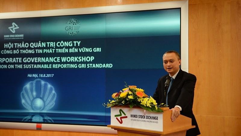 """Hội thảo quản trị công ty """"chuẩn công bố thông tin phát triển bền vững GRI"""""""