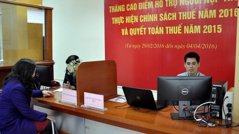 1.344 doanh nghiệp đã thực hiện kê khai hoàn thuế điện tử