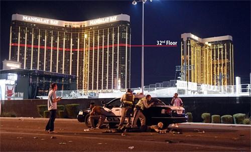 [Video] 10 phút xả đạn như mưa của tay súng ở Las Vegas