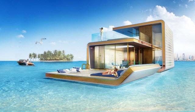 Độc đáo những ngôi nhà xa xỉ gần 3 triệu USD ngay giữa biển