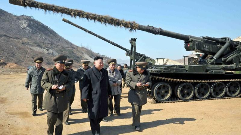 [Video] Siêu pháo Koksan - vũ khí uy hiếp Hàn Quốc của Triều Tiên