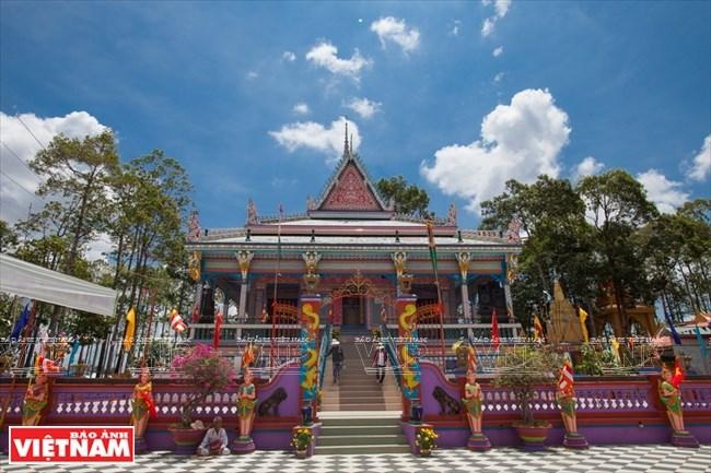 Chén Kiểu - ngôi chùa đoàn kết của người Khmer