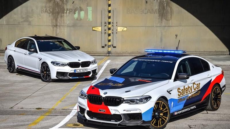 Ngắm BMW M5 - Chiếc xe dẫn cho giải đua MotoGP