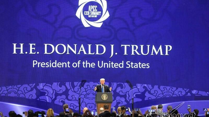 [Video] Bài phát biểu của Tổng thống Mỹ tại hội nghị Thượng đỉnh lãnh đạo doanh nghiệp APEC