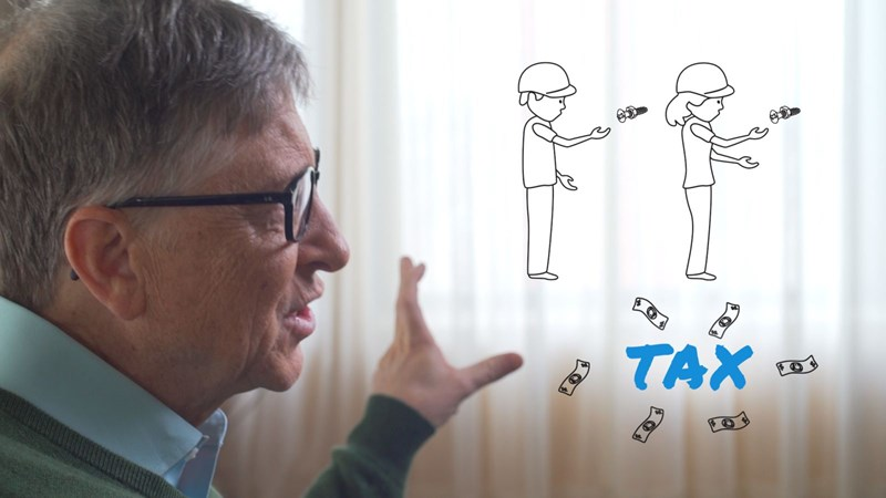 [Video] Bill Gates mừng vì robot ngày càng thông minh
