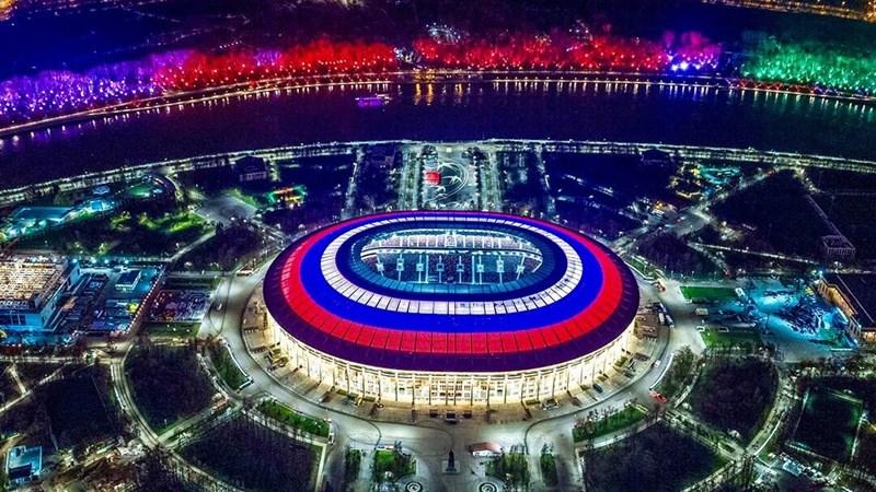 12 sân vận động phục vụ World Cup 2018