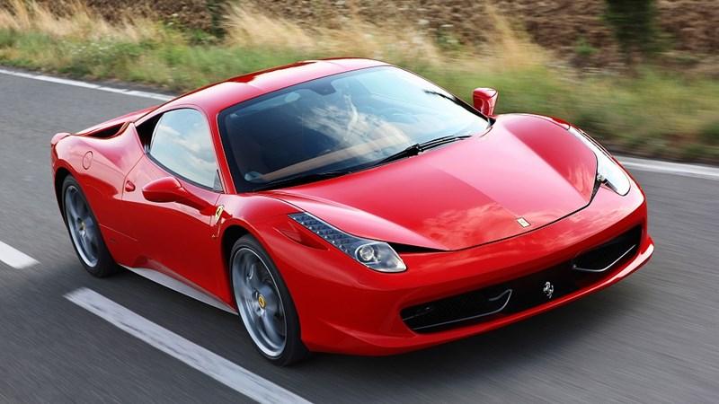 10 mẫu xe Ferrari đẹp nhất