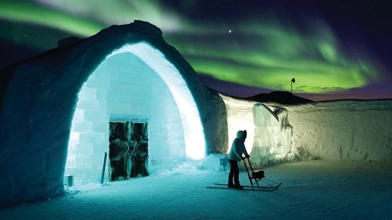 Khám phá cung điện mùa Đông - Icehotel tại Thụy Điển