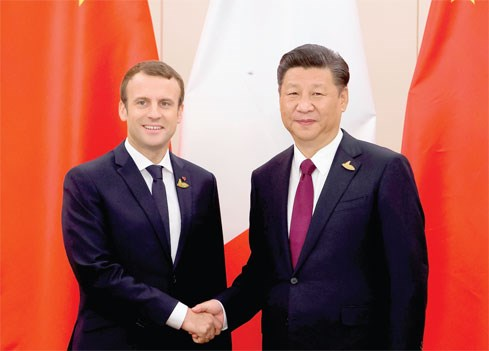 """Tổng thống Pháp thăm Trung Quốc: """"Định nghĩa"""" lại chính sách châu Á"""