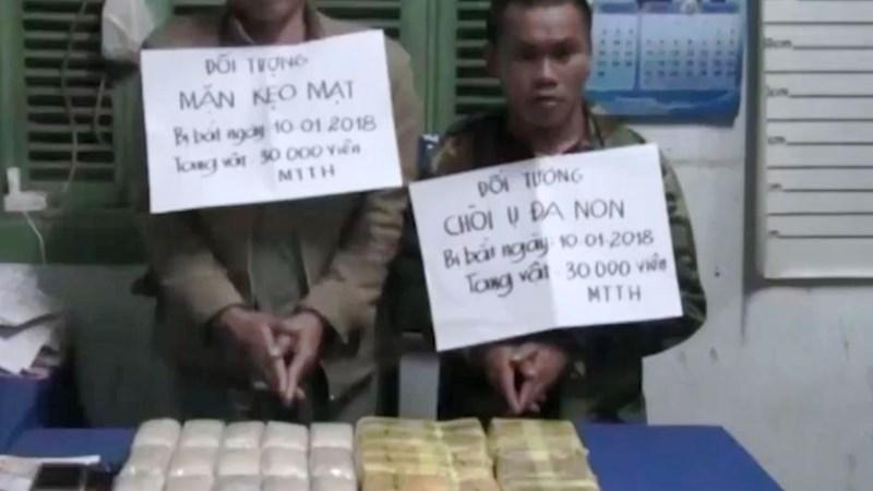 [Video] Người nước ngoài mang 30.000 viên ma túy tổng hợp bị bắt ở Quảng Bình