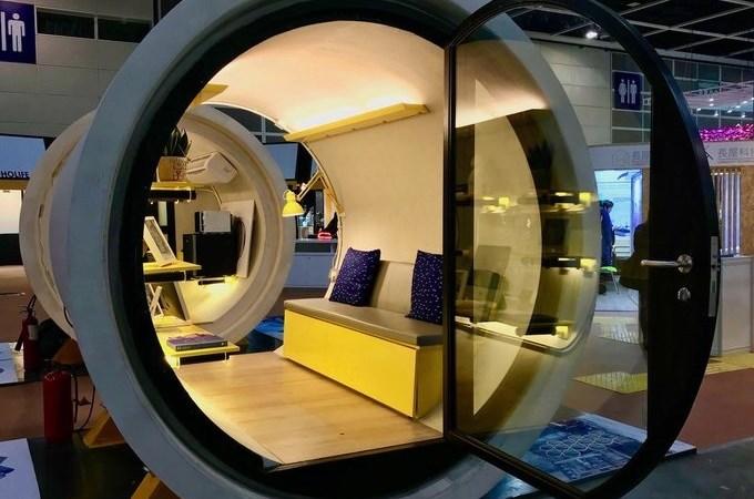 """Nhà """"ống cống"""" giá 15.000 USD tại Hong Kong"""