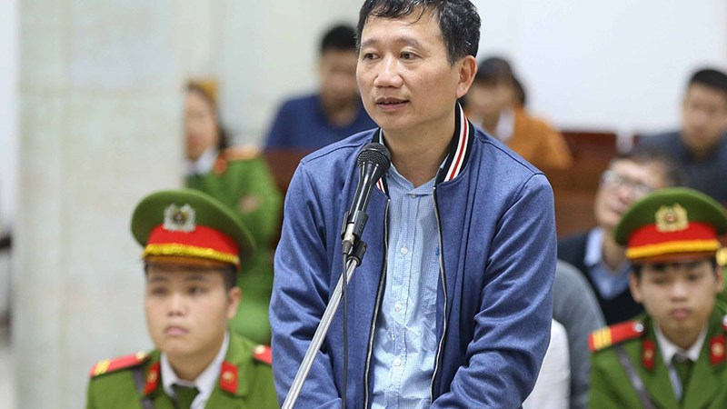 [Infographic] Mức án của Trịnh Xuân Thanh và các đồng phạm