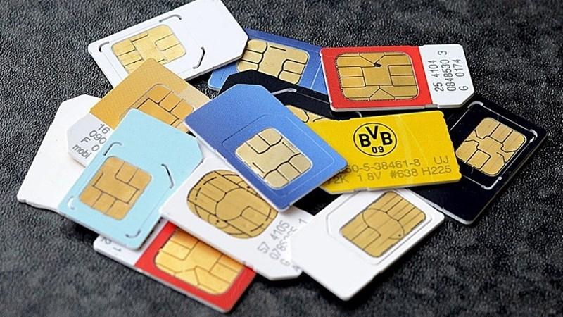 Quyết liệt xử lý tình trạng SIM kích hoạt sẵn
