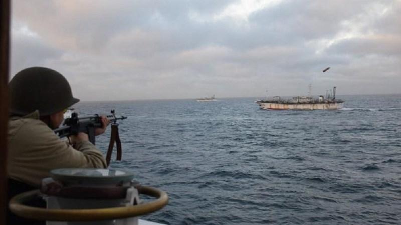 [Video] Argentina: Công bố video bắn pháo về phía tàu cá Trung Quốc