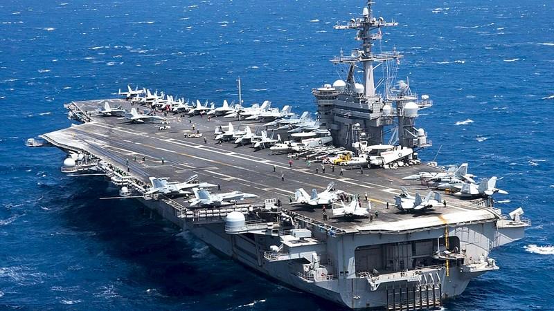 [Video] Khám phá boong tàu sân bay Mỹ sắp thăm Việt Nam